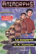Animorphs 20 the discovery La scoperta italian cover