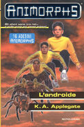 Animorphs 10 the android L androide italian cover