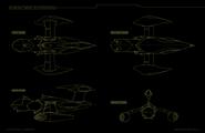 Andalite Fighter Schematic
