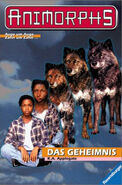 Animorphs book 9 the secret german cover das geheimnis