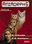 Animorphs 2 the visitor A intrusa brazilian cover Rocco