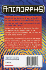 Animorphs 19 the departure UK back cover later