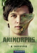 Animorphs 1 the invasion a invasao 2011 brazilian cover