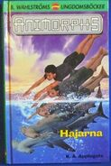 Animorphs 15 the escape Hajarna swedish cover