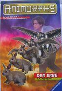 Animorphs 23 german the pretender der erbe cover