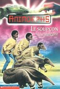 Animorphs 24 the suspicion Le Soupcon french canadian cover