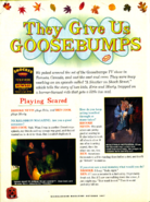 Nickelodeon magazine october 1997 brooke nevin goosebumps shocker shock street lrg