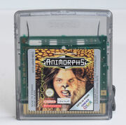 Animorphs gameboy color game cartridge