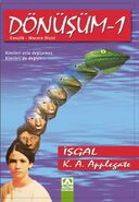 Animorphs 1 the invasion Donusum Isgal turkish cover