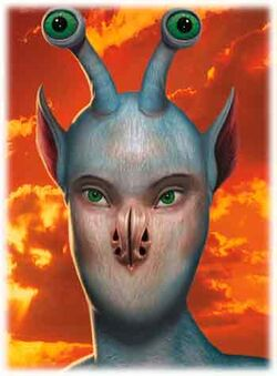 Animorphs Ax face no text david mattingly