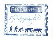 K A Applegate signed bookplate