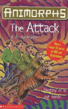 Animorphs 26 the attack UK cover