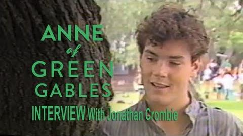 Anne of Green Gables (1985) Interview - Jonathan Crombie as Gilbert Blythe