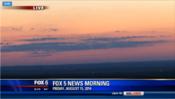 WTTG-TV's+FOX+5+News+Morning+At+6+Video+Open+From+Friday+Morning,+August+15,+2014