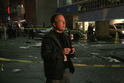 2008-03-15 Reporter in front of the CNN Center 2