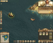 Anno 1404-campaign chapter4 zahir damaged ship