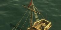 Small trading ship
