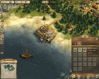 Anno 1404-campaign chapter4 repair crane 355 citizens