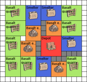Eco-Basalt Square