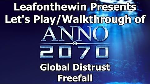 Anno 2070 Let's Play Walkthrough Global Event - Global Distrust - Freefall