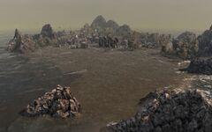 Sokow's flooded island