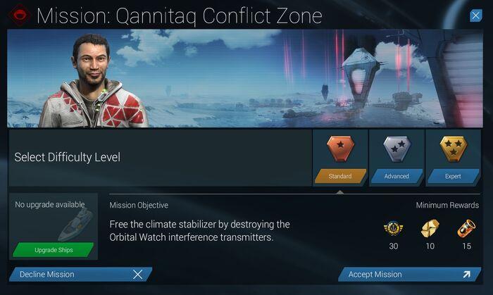 Mission Qannitaq Conflict Zone Standard