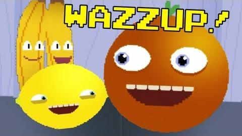 Annoying Orange - WAZZUP Video Game Style!