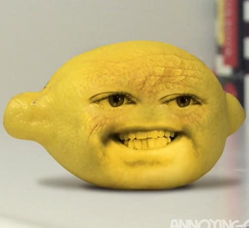 annoying orange grandpa lemon - photo #6