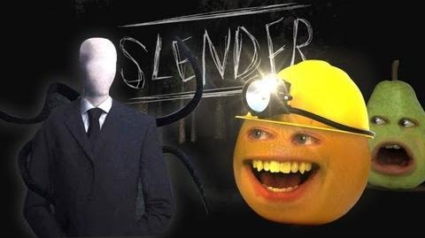 Annoying Orange vs Slender