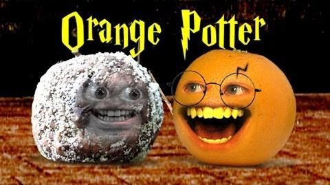 Naranja Potter y el mortal de Apple