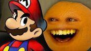 Annoying Orange Mario