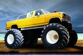 AO Midget Apple Monster Truck