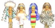 4 costumes