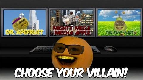 Annoying Orange - Despicable Me 2 - Choose Your Villain!