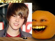 Annoying Orange Bieber Fever