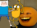 Annoying Orange Adventure Time