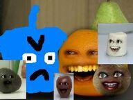 Annoying Orange Punker Face