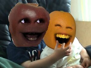 Annoying Orange Bit My Peel
