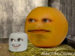 Annoying Orange Sneezing Marshmallow