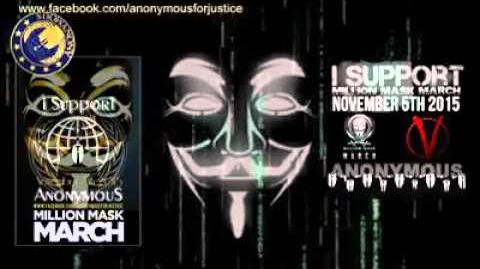 Anonymous Million Mask March 2015