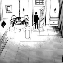 The doll shop in the manga