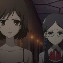 Sayuri and Matsuko confront Mei with the others.