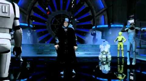 "Kinect Star Wars - ""Ghosts N Stuff"" Vader Palpatine Dance"