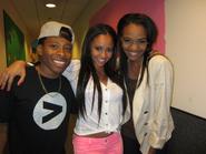 Vanessa with China and Carlon