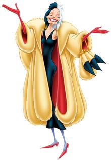 Disney Cruella De Vil