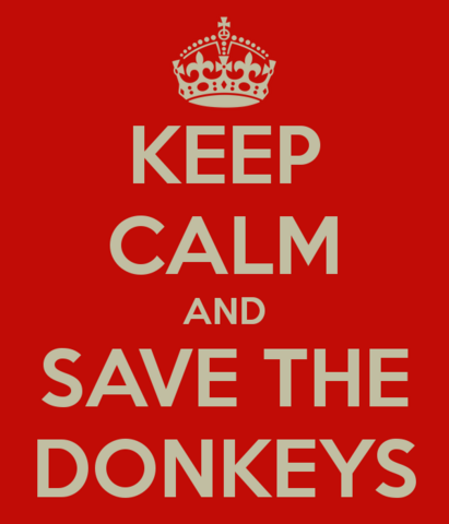 File:Keep Calm Donkey.png