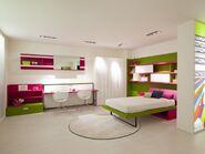 Futuristic Girls Bedroom