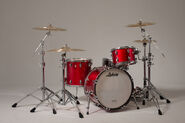 Red Ludwig Drum Kit