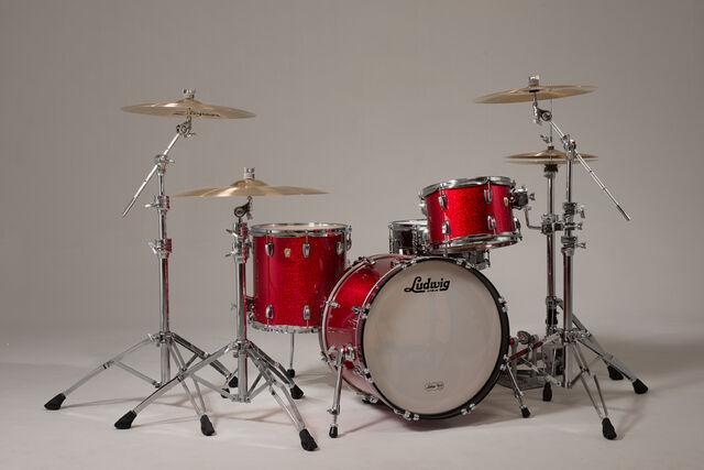 File:Red Ludwig Drum Kit.jpg