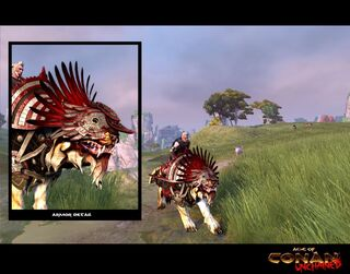 Imperial Redsteel Slaughter Steed